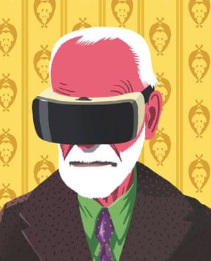 Freud realidad virtual