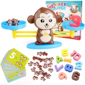 mono cuenta números
